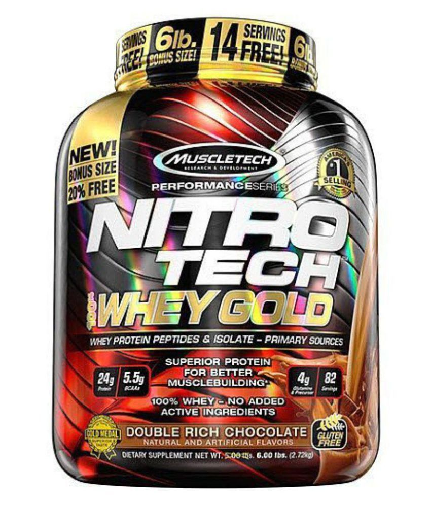 Nitrotech Whey Gold Protein